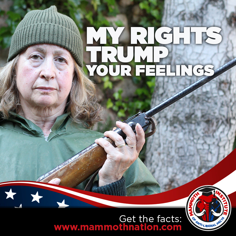 My Rights Trump your feelings
