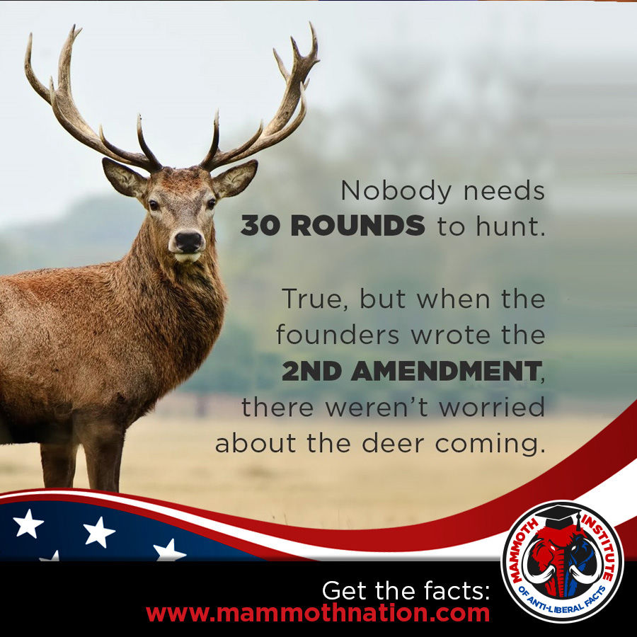 30 rounds to hunt