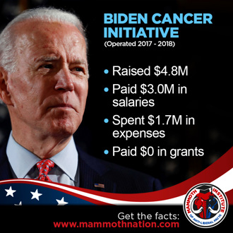 Biden Cancer Institute Scam