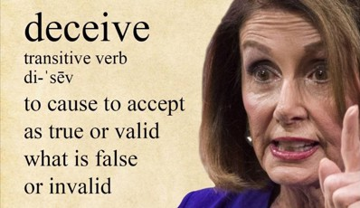 TIME TO ANSWER SOME QUESTIONS, SPEAKER PELOSI!