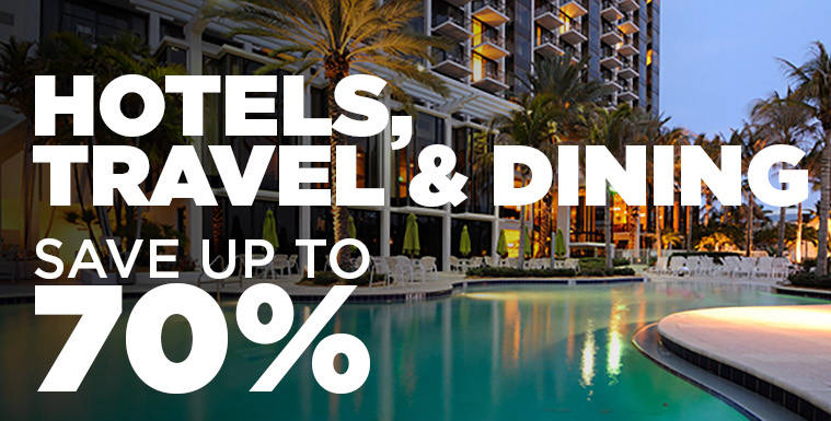 Hotel and travel Discounts